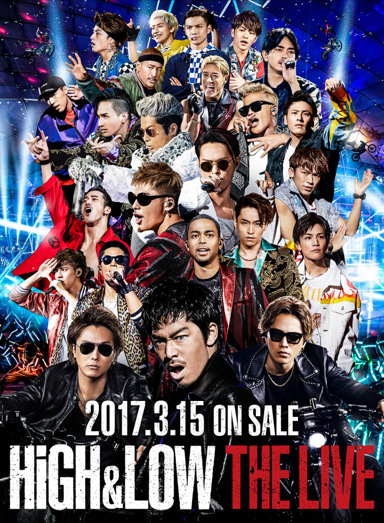 HiGH&LOW THE LIVE 2017.3.15 ON SALE